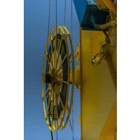 Lackierung Dibond Edelstahlrolle 148x98cm