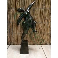 Bronze dancing lady