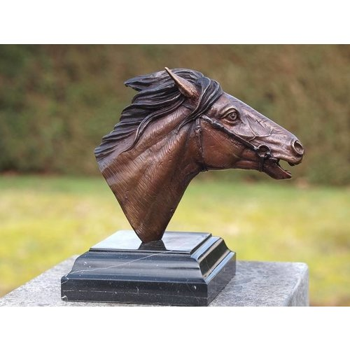 Eliassen Beeld brons paardenhoofd