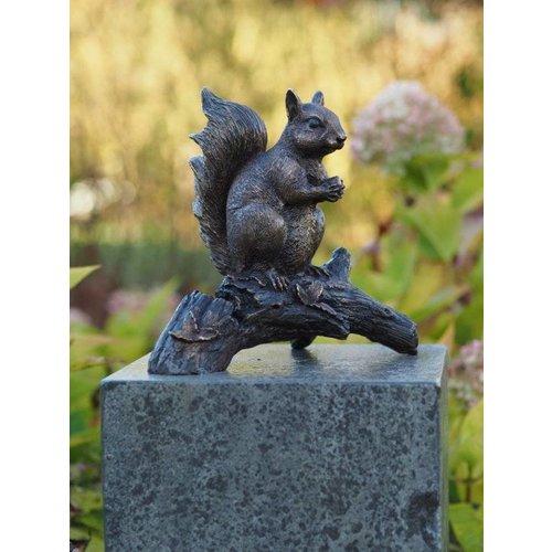 Eliassen Beeld brons eekhoorn op tak