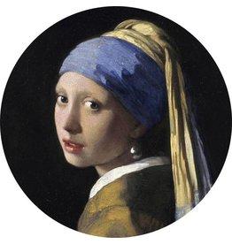 MondiArt Glasmalerei um Mädchen mit der Perlenrutsche 40cm
