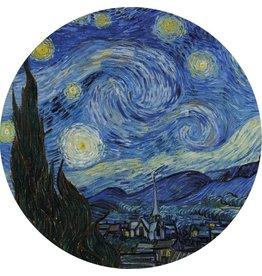 MondiArt Glass painting around van Gogh
