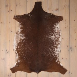 Ziegenfell ca. 100 x 55 cm braun