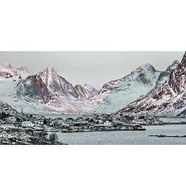 Eliassen Glasschilderij 160x80cm Noorwegen