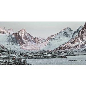 Eliassen Glass painting 160x80cm Norway