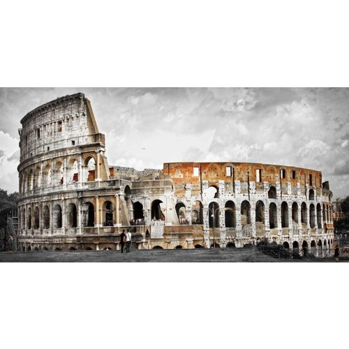 Eliassen Glass painting 160x80cm Colosseum