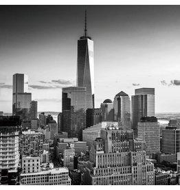 Eliassen Glass painting 80x80cm New tower NY