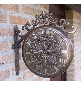 Eliassen Bronze station clock