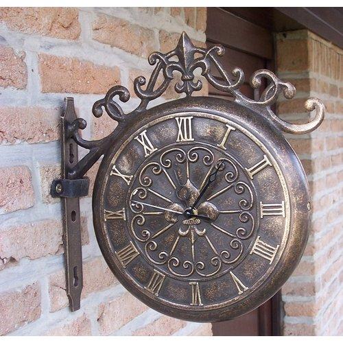 Eliassen Bronze Station Uhr