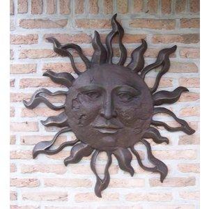 Eliassen Wall decoration bronze sun very large