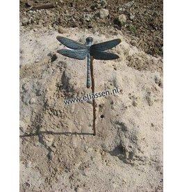 Eliassen Gartenfeuerzeug Bronze mit kleiner Libelle