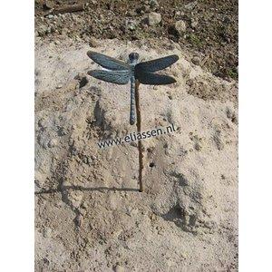 Eliassen Gartenstopfen Bronze mit kleiner Libelle