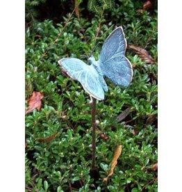 Eliassen Tuinsteker met kleine bronzen vlinder
