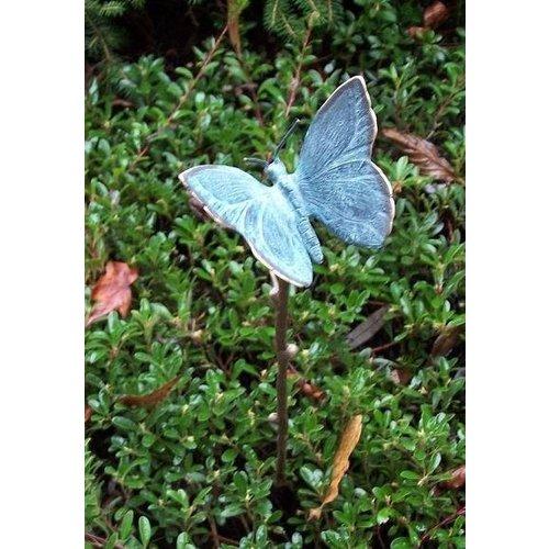 Eliassen Garden plunger with small bronze butterfly