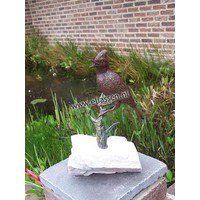 Image bronze bird on branch 2