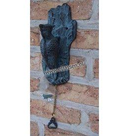 Eliassen Door knocker bronze woodpecker