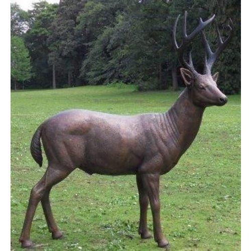 Eliassen Beeld brons hert mannelijk