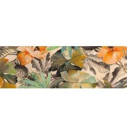MondiArt Glasmalerei 50x150cm Blumen 1