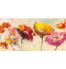 MondiArt Tweelijk Spring 2x 80x80cm