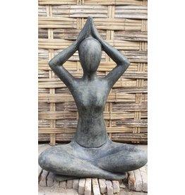 Eliassen Yoga beeld Sukhasana 125cm