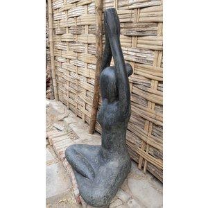 Eliassen Yoga beeld armen omhoog 80cm