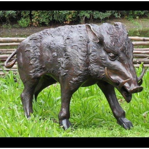 Eliassen Beeld brons everzwijn groot 1