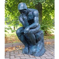 Sculpture bronze The Thinker Of Rodin great