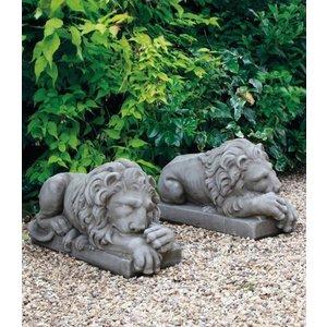 Dragonstone Lion Paar 63cm