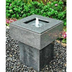 Eliassen Terrasse Brunnen Granit Agave