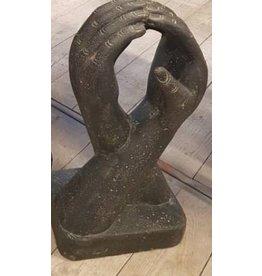 Eliassen Steinskulptur Skulptur Hände 50cm