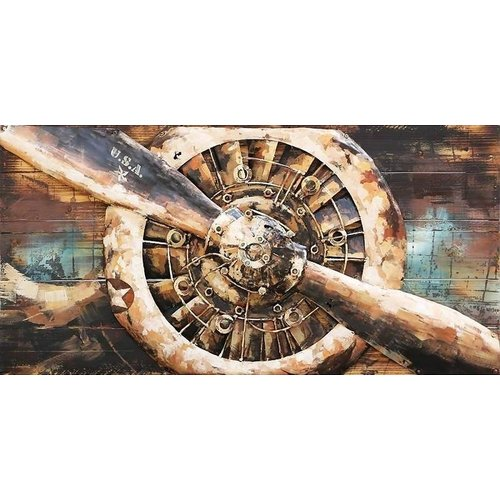 3D painting Star engine 1 70x140cm