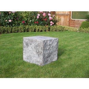 Eliassen Sokkel hardsteen gekapt 40x40x40cm