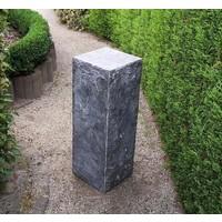 Hard stone base cut 25x25x75cm