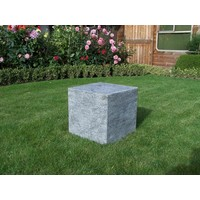 Pedestal stone burned 40x40x40cm