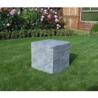 Base stone burned 50x50x50cm