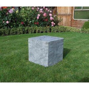 Eliassen Base stone burned 50x50x50cm