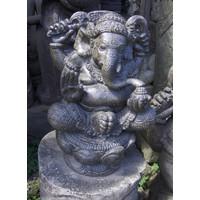 Ganesha in lotus zit 41cm