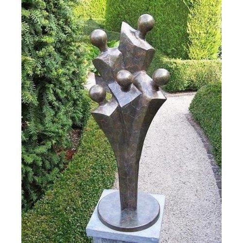 Eliassen Beeld brons familie modern