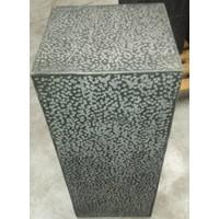 lava stone plinth