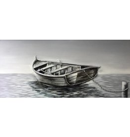 Ölgemälde Rowboat 140x70cm