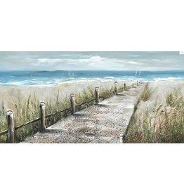 Oil painting Strandpad 140x70cm