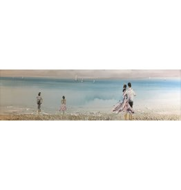 Oil painting Beautiful 50x150cm