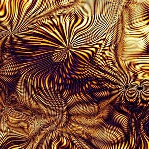 Ter Halle Glasmalerei Schwarze Löcher 100x100cm