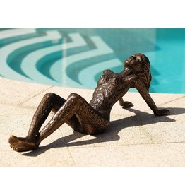 Eliassen Image bronze small lying woman