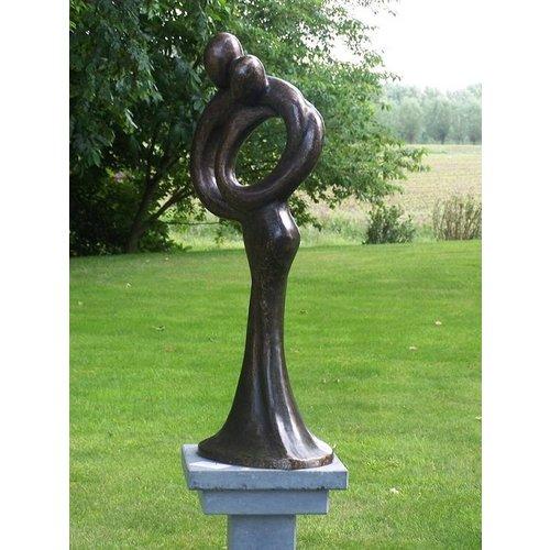 Eliassen Bild Bronze abstrakte Liebe Paar groß