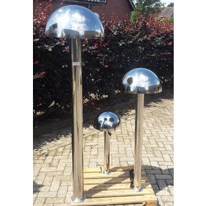Eliassen Water feature stainless steel Outrain in 3 sizes
