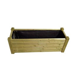 Plantenbak Talen hout 4012