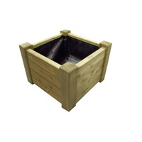 Flower box Extra heavy wood 6060