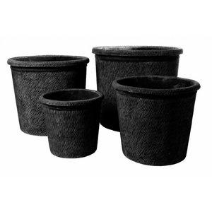 Eliassen Pots of lava rock 0021