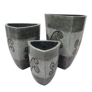 Eliassen Flowerpot Vaso Triangolo